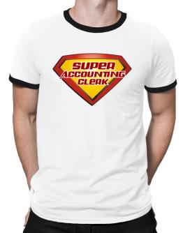 Super Accounting Clerk Ringer T-Shirt