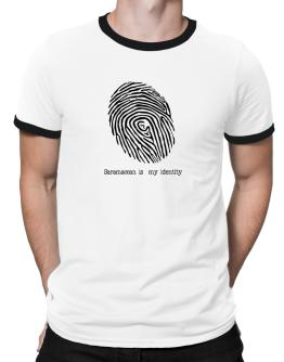 Saramaccan Is My Identity Ringer T-Shirt