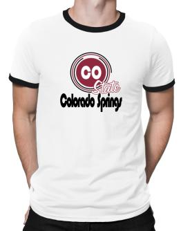 Colorado Springs - State Ringer T-Shirt