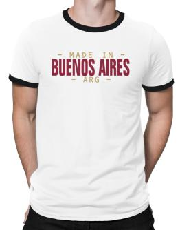 MADE IN Buenos Aires - ISO CODE Ringer T-Shirt