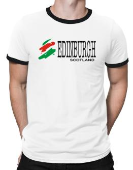 Brush Edinburgh Ringer T-Shirt