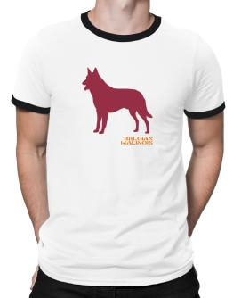 Belgian Malinois Stencil / Chees Ringer T-Shirt
