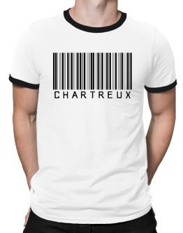 Chartreux Barcode Ringer T-Shirt