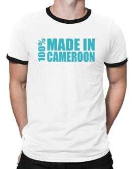 100% Made In Cameroon Ringer T-Shirt