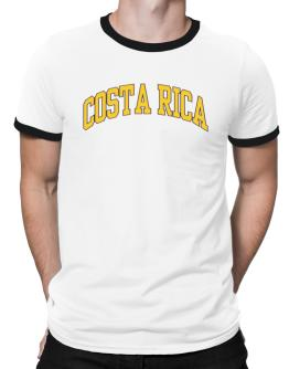 Costa Rica - Simple Ringer T-Shirt