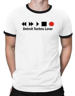 Detroit Techno Lover Ringer T-Shirt