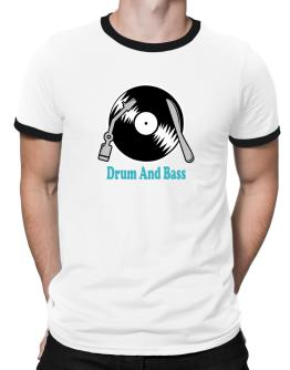 Drum And Bass - Lp Ringer T-Shirt