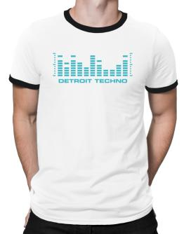 Detroit Techno - Equalizer Ringer T-Shirt