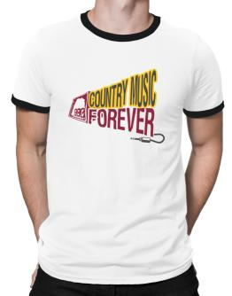 Country Music Forever Ringer T-Shirt