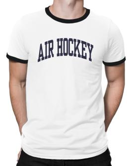 Air Hockey Athletic Dept Ringer T-Shirt