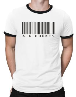 Air Hockey Barcode / Bar Code Ringer T-Shirt