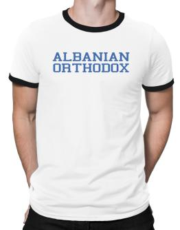 Albanian Orthodox - Simple Athletic Ringer T-Shirt