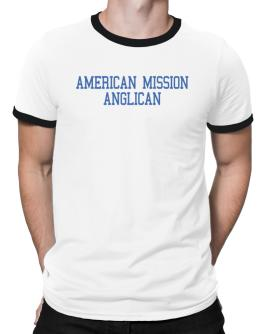 American Mission Anglican - Simple Athletic Ringer T-Shirt