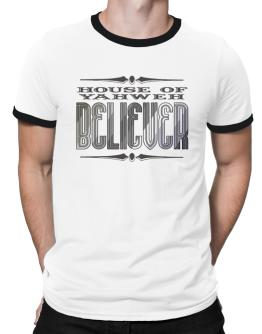 House Of Yahweh Believer Ringer T-Shirt