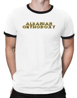 Albanian Orthodoxy Ringer T-Shirt