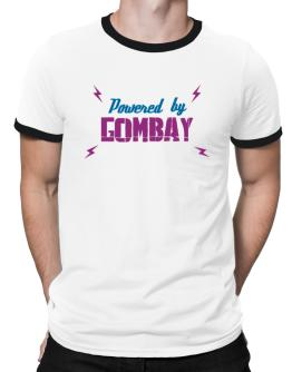 Powered By Gombay Ringer T-Shirt