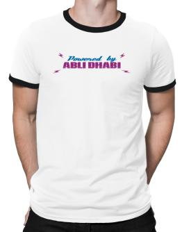 Powered By Abu Dhabi Ringer T-Shirt