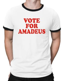 Vote For Amadeus Ringer T-Shirt