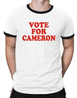 Vote For Cameron Ringer T-Shirt