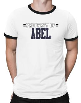 """ Property of Abel "" Ringer T-Shirt"