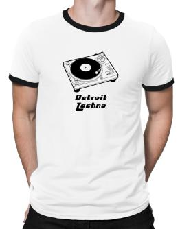 Retro Detroit Techno - Music Ringer T-Shirt