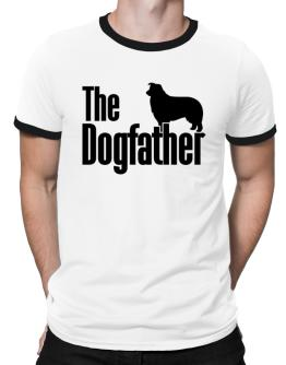 The dogfather Border Collie Ringer T-Shirt