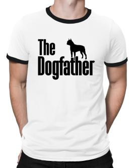 The dogfather Boston Terrier Ringer T-Shirt