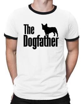 The dogfather French Bulldog Ringer T-Shirt