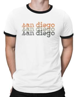 San Diego repeat retro Ringer T-Shirt