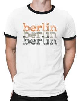 Berlin repeat retro Ringer T-Shirt