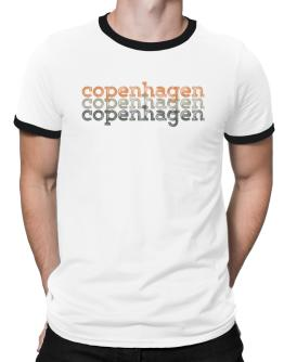 Copenhagen repeat retro Ringer T-Shirt