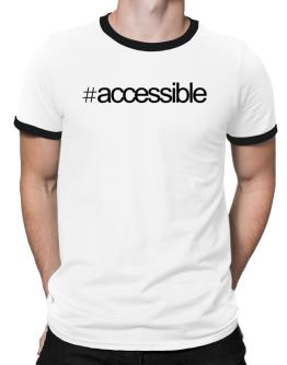 Hashtag accessible Ringer T-Shirt