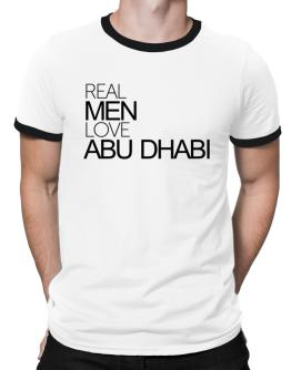 Real men love Abu Dhabi Ringer T-Shirt