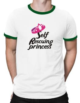 Self Rescuing Princess Ringer T-Shirt