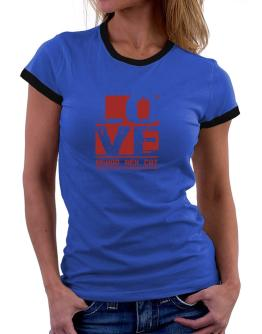 Love Devon Rex Women Ringer T-Shirt