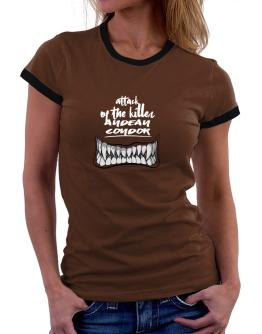 Attack of the killer Andean Condor 2 Women Ringer T-Shirt