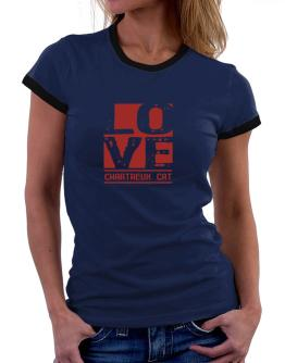 Love Chartreux Women Ringer T-Shirt