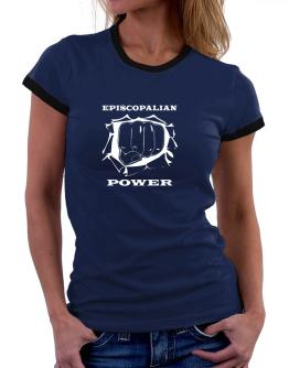 Episcopalian Power Women Ringer T-Shirt
