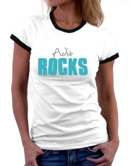 Adit Rocks Women Ringer T-Shirt