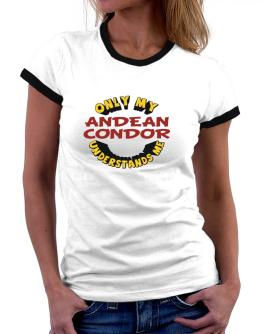 Only My Andean Condor Understands Me Women Ringer T-Shirt