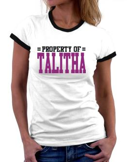 Property Of Talitha Women Ringer T-Shirt