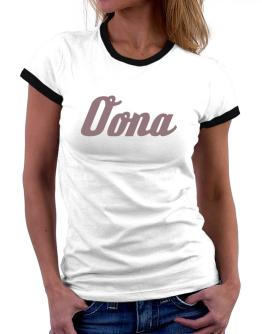 Oona Women Ringer T-Shirt