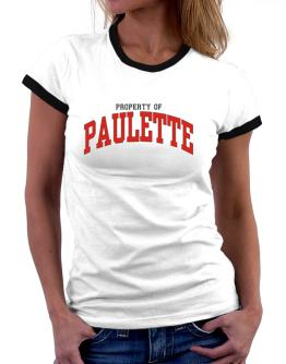 Property Of Paulette Women Ringer T-Shirt