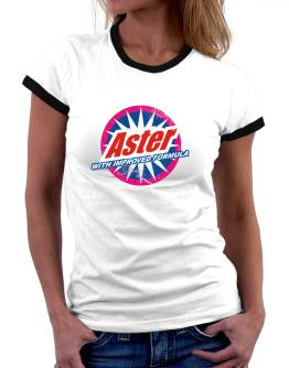 Aster - With Improved Formula Women Ringer T-Shirt