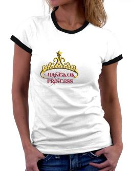Bangkok Princess Women Ringer T-Shirt