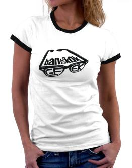 Bangkok Geek Women Ringer T-Shirt
