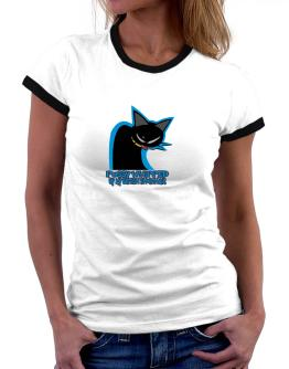 Pussy Whipped By My British Shorthair Women Ringer T-Shirt