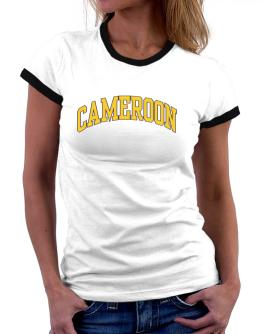 Cameroon - Simple Women Ringer T-Shirt