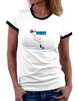 Samba It Makes Me Feel Alive ! Women Ringer T-Shirt