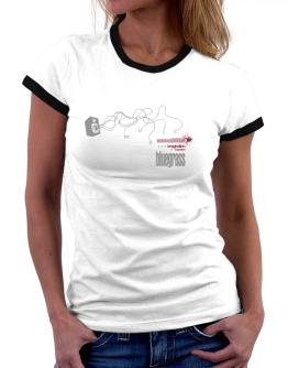 Bluegrass - Imagination + Inspiration Women Ringer T-Shirt